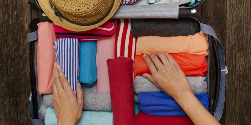 How To Pack a Suitcase Rolling Clothes
