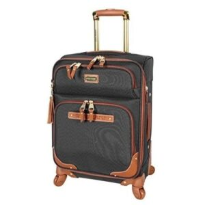 20 Inch Softside Expandable Suitcase for Men & Women