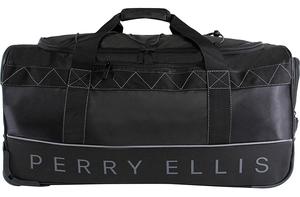 Perry Ellis Men's Extra Large 35″ Rolling Duffel Bag