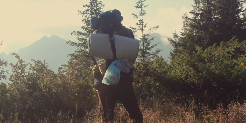 How To Attach Sleeping Bag To Regular Backpack