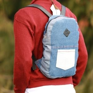 How To Make Backpack Out Of Jeans