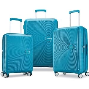 American Tourister Pop Max Softside Luggage with Spinner Wheels