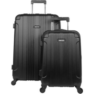 Kenneth Cole REACTION Women's Chelsea 3-Piece 20″/24″/28″ Softside Chevron Quilted Expandable 4-Wheel Spinner Luggage Set